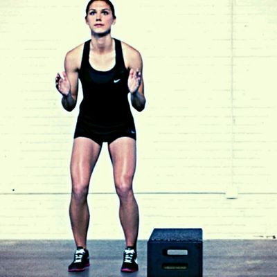 Jumping over Box Burpee