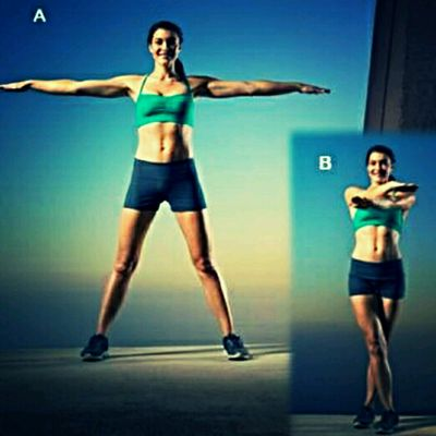 Cross Jumping Jacks