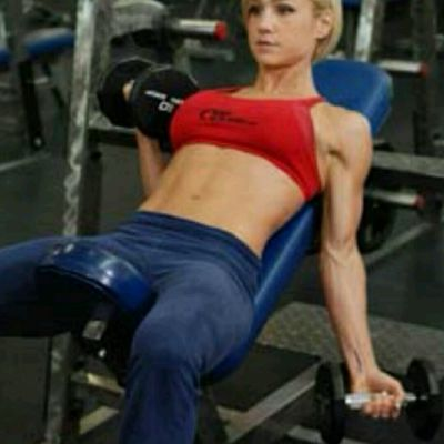 Alternating Incline Dumbbell Curl (10 Each)