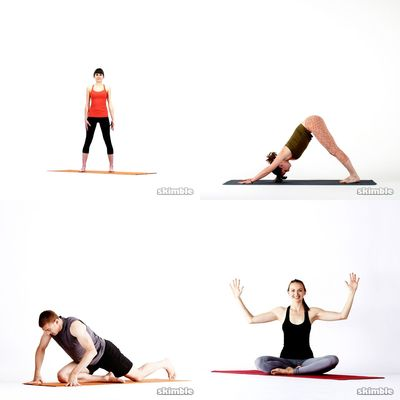 Yoga and stretches