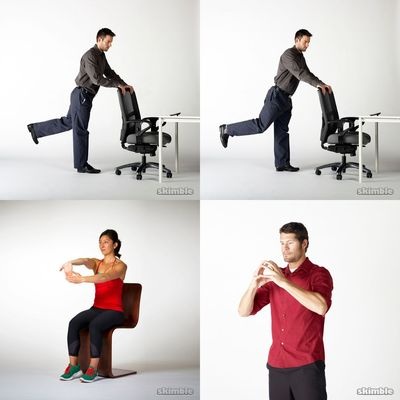 Sedentary Office Stretches
