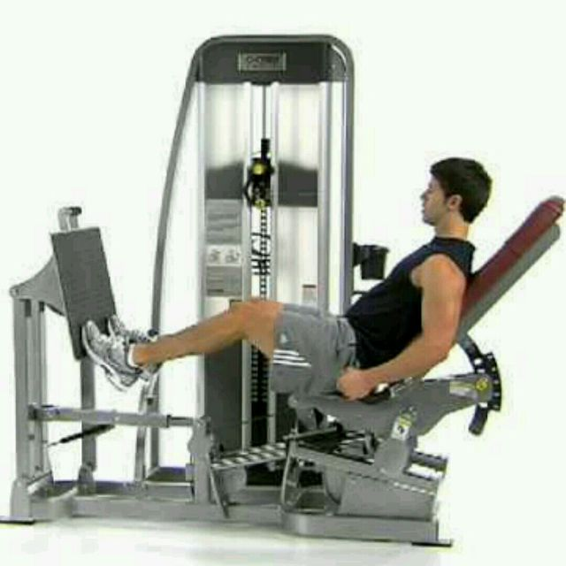How to do: Calf Press - Step 1