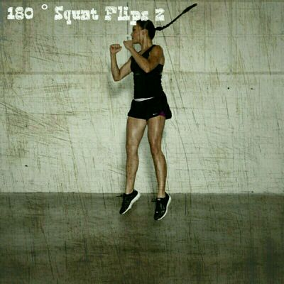 180 Degree Squat Flips