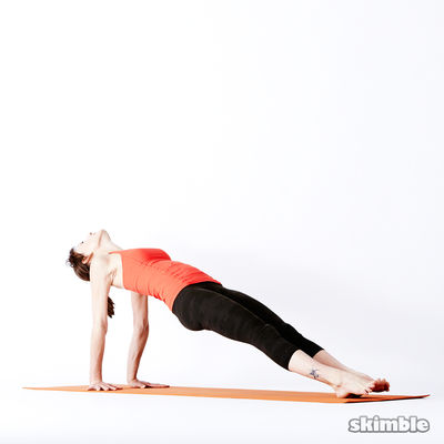 Upward Plank Or Two Legged Staff Pose - Hold