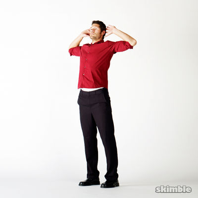 Elbows-Out Chest Stretches