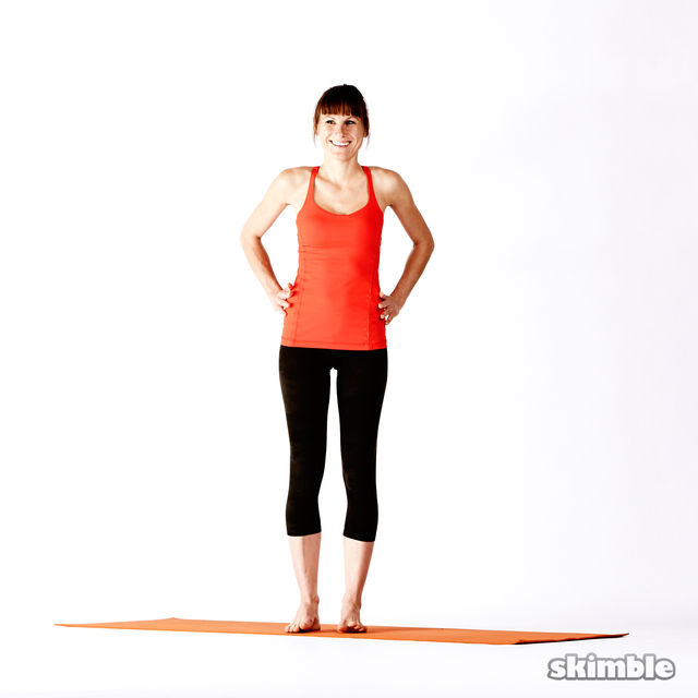 How to do: Right Extended Hand-To-Big-Toe Sequence - Step 1