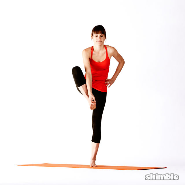 How to do: Right Extended Hand-To-Big-Toe Sequence - Step 2