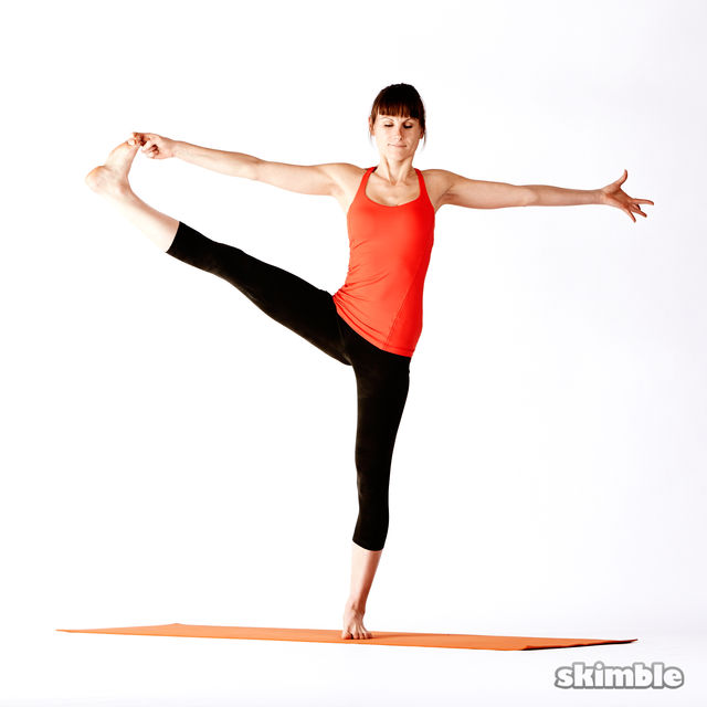 How to do: Right Extended Hand-To-Big-Toe Sequence - Step 5