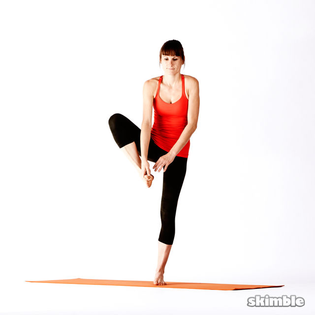 How to do: Right Extended Hand-To-Big-Toe Sequence - Step 6