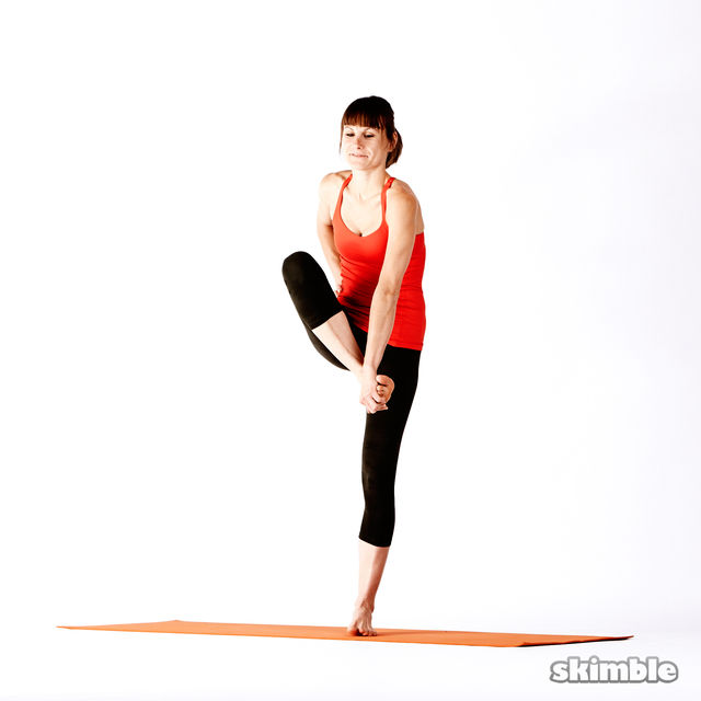 How to do: Right Extended Hand-To-Big-Toe Sequence - Step 7