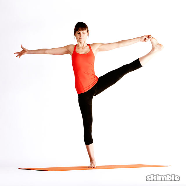 How to do: Left Extended Hand-To-Big-Toe Sequence - Step 5