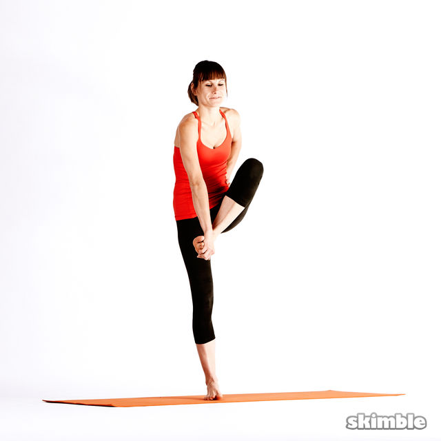 How to do: Left Extended Hand-To-Big-Toe Sequence - Step 7