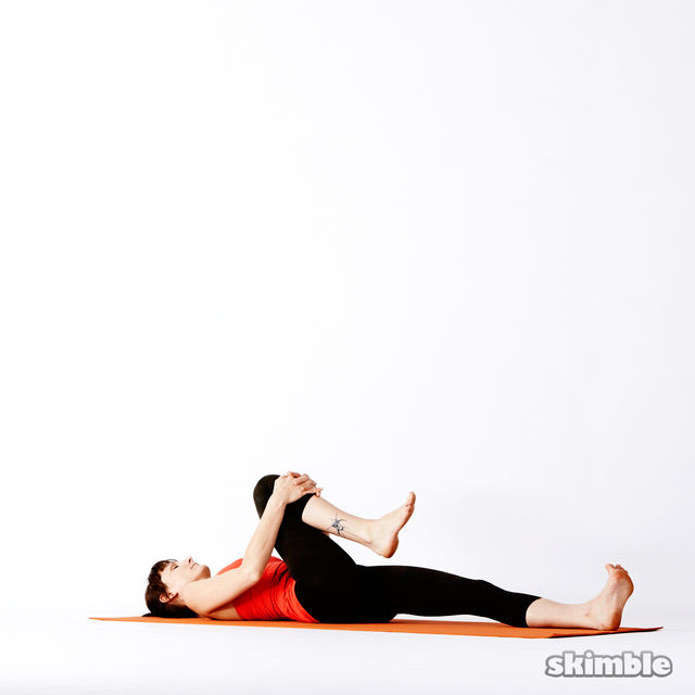 How to do: Reclining Big Toe Sequence - Step 2