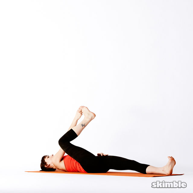 How to do: Reclining Big Toe Sequence - Step 3