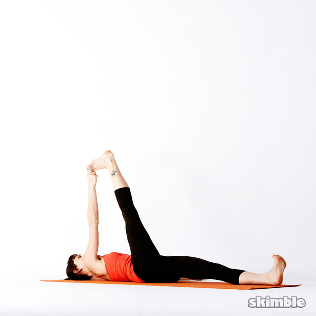 How to do: Reclining Big Toe Sequence - Step 4