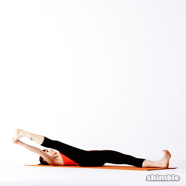 How to do: Reclining Big Toe Sequence - Step 5
