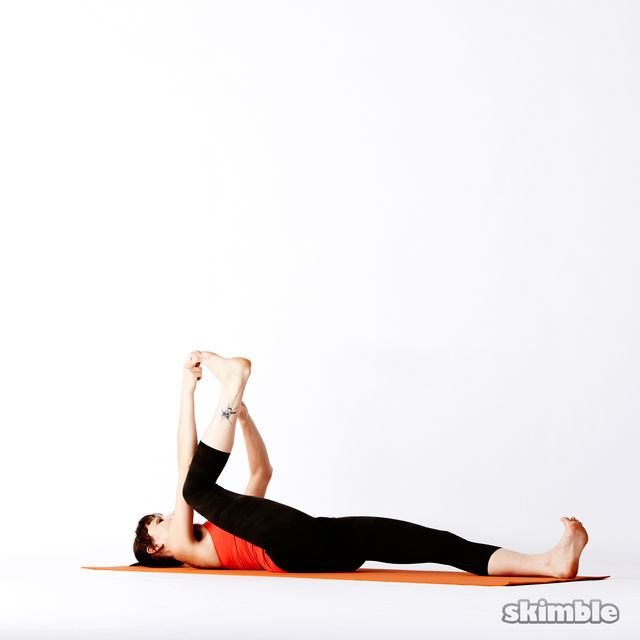 How to do: Reclining Big Toe Sequence - Step 6