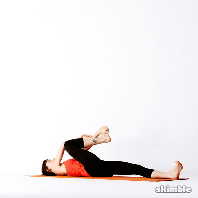 How to do: Reclining Big Toe Sequence - Step 7