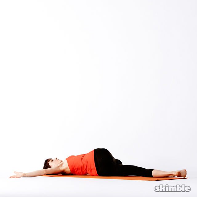 How to do: Reclining Big Toe Sequence - Step 8