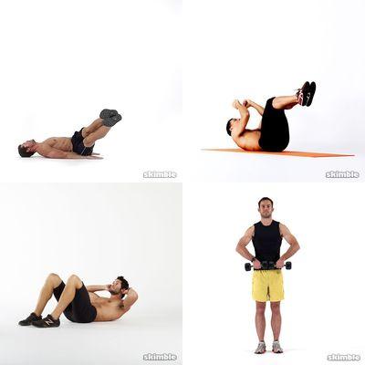 Sam's workout