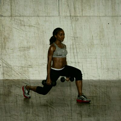 Reverse Dumbell Lunges