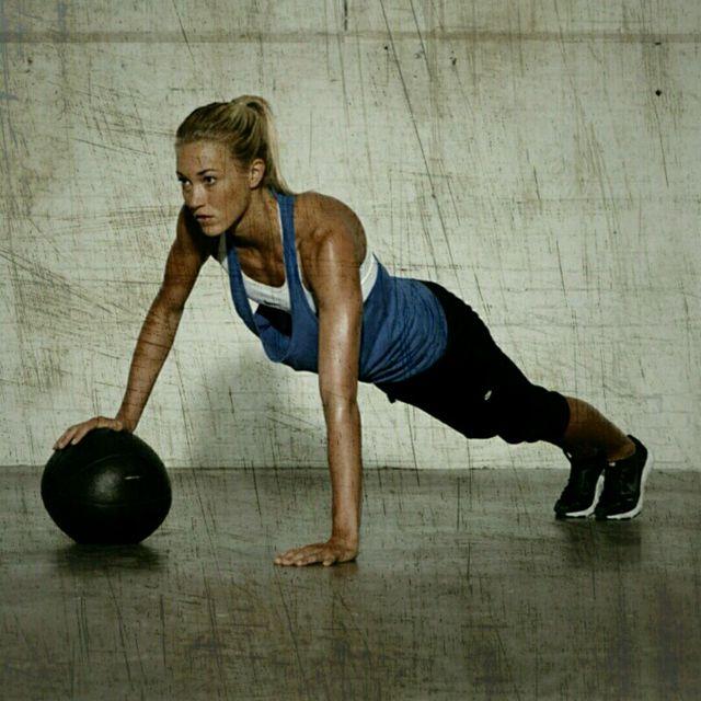 How to do: Medball Push-Ups - Step 1