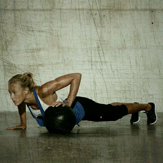How to do: Medball Push-Ups - Step 4