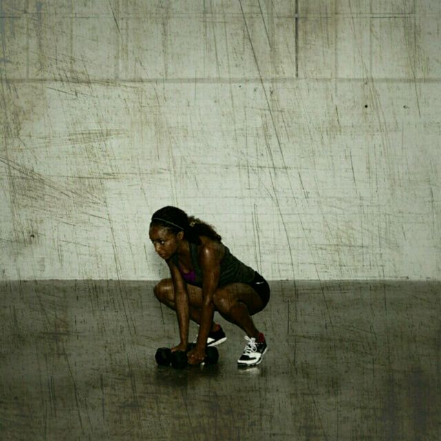 How to do: Warrior Burpees - Step 4