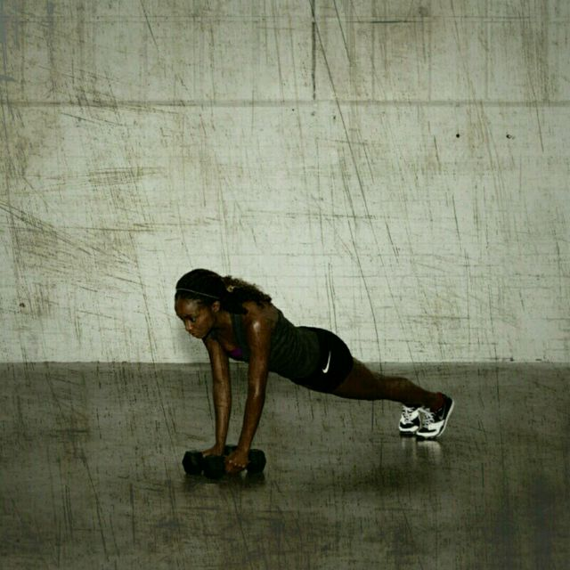 How to do: Warrior Burpees - Step 5