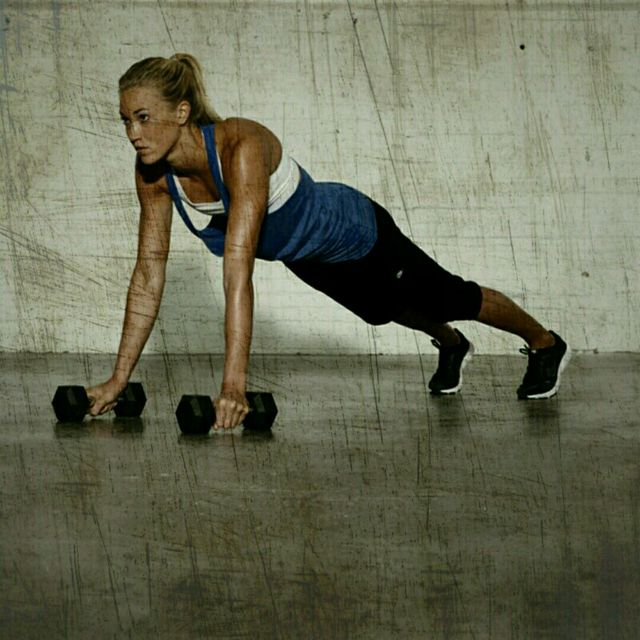 How to do: Push-Up Plank Rows - Step 1