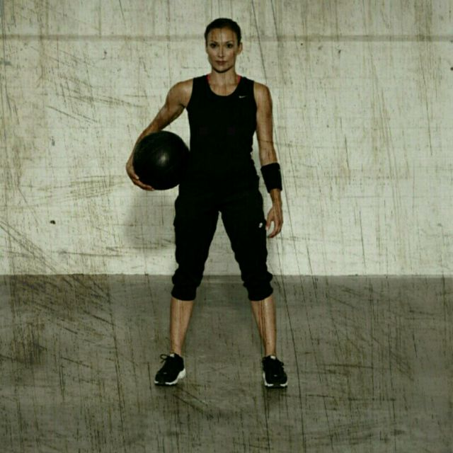How to do: Side Lunge Rotation - Step 1