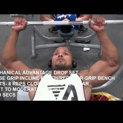 Incline Bench Press Close Grip