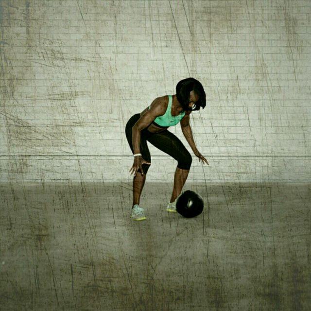 How to do: Med Ball Slammer - Step 2
