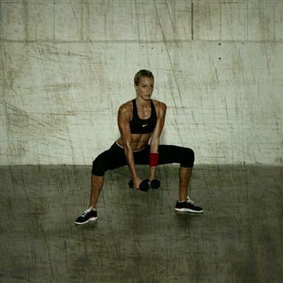 Sumo Squat Lateral Raiser