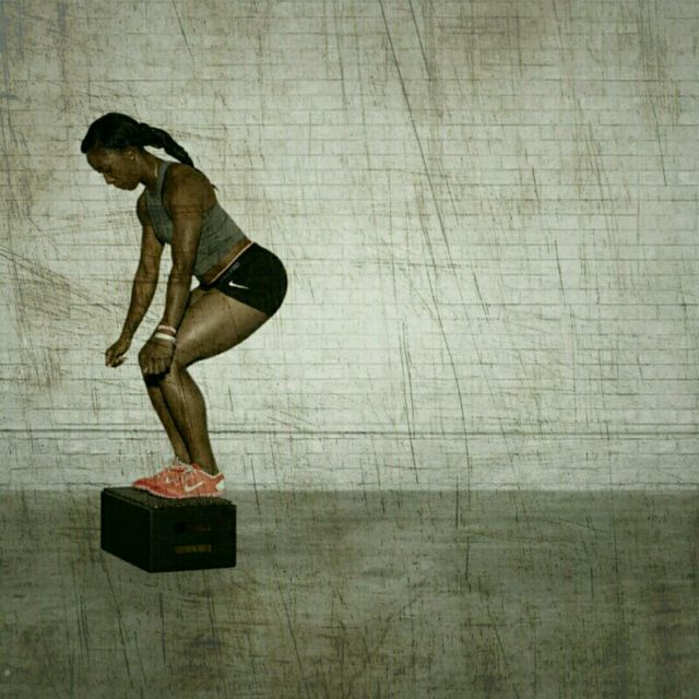 How to do: Burpee Box Jumper - Step 5