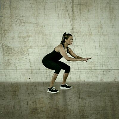 Hip Thrust Squat Jumps
