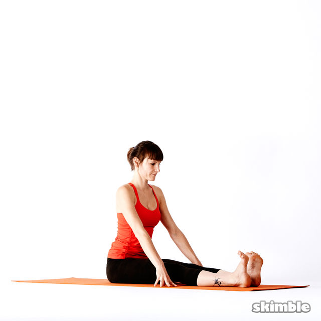 How to do: Seated Forward Bend - Step 1