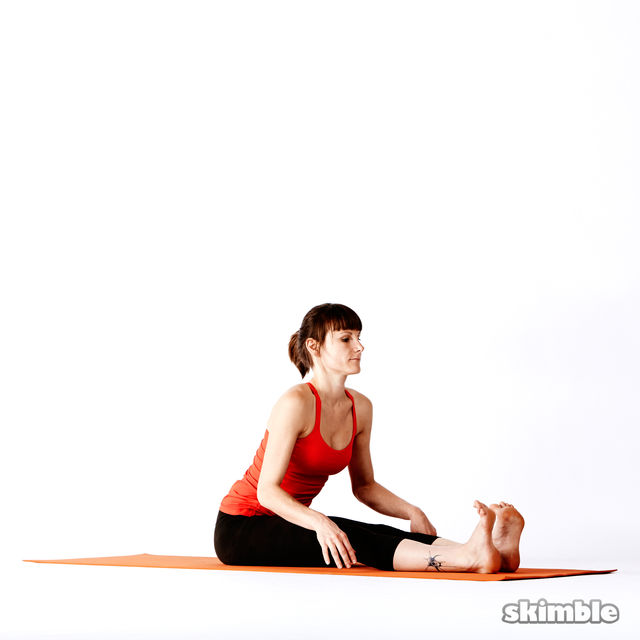 How to do: Seated Forward Bend - Step 2