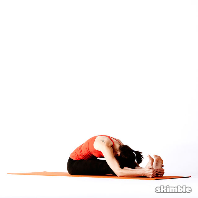 How to do: Seated Forward Bend - Step 4