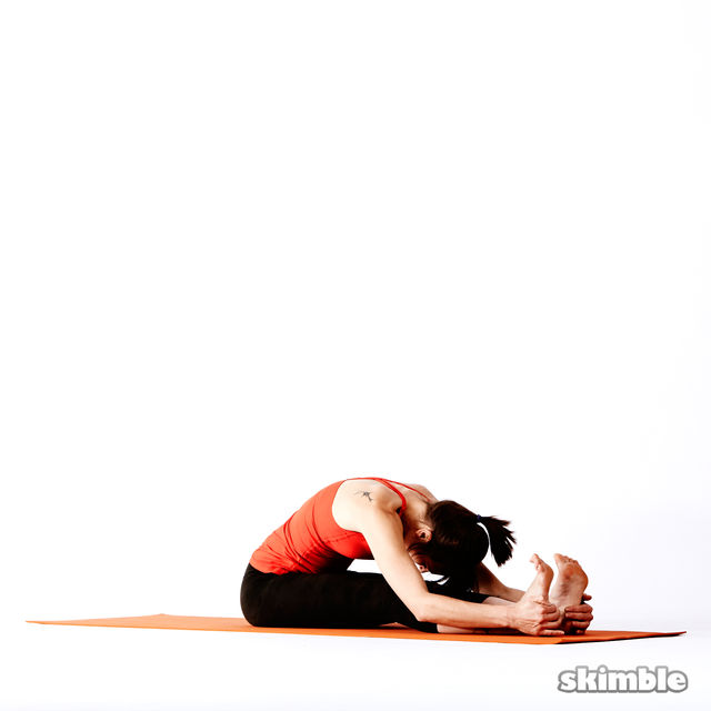 How to do: Seated Forward Bend - Step 5