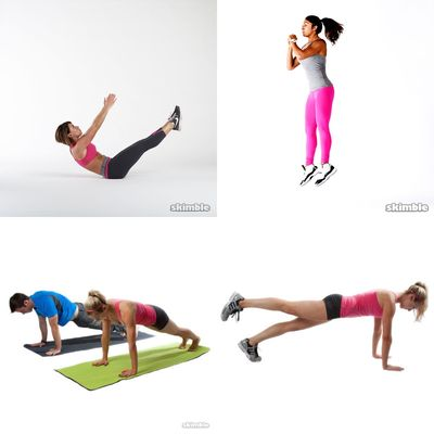 Extreme workout!