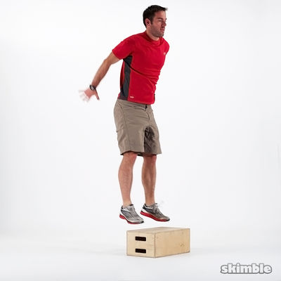 Thrusters/box Jumps