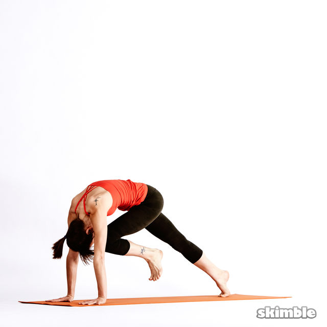 How to do: Left Knee to Chest - Step 5