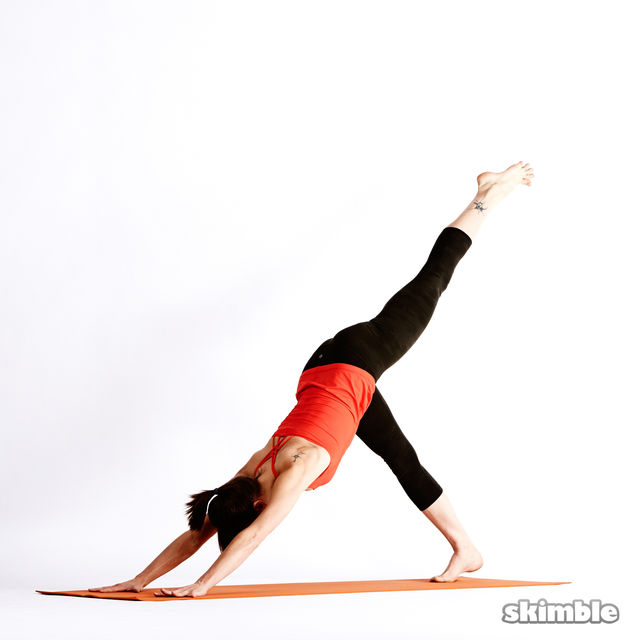 How to do: Left Knee to Chest - Step 7