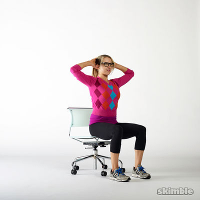 Seated Cross Body Crunches