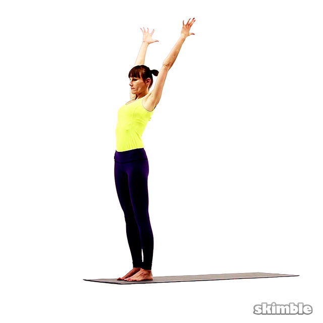 How to do: Standing Crescent Moon Pose - Step 1