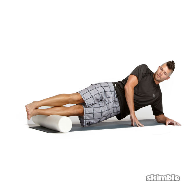 How to do: Advanced Left Peroneal Rolls - Step 1