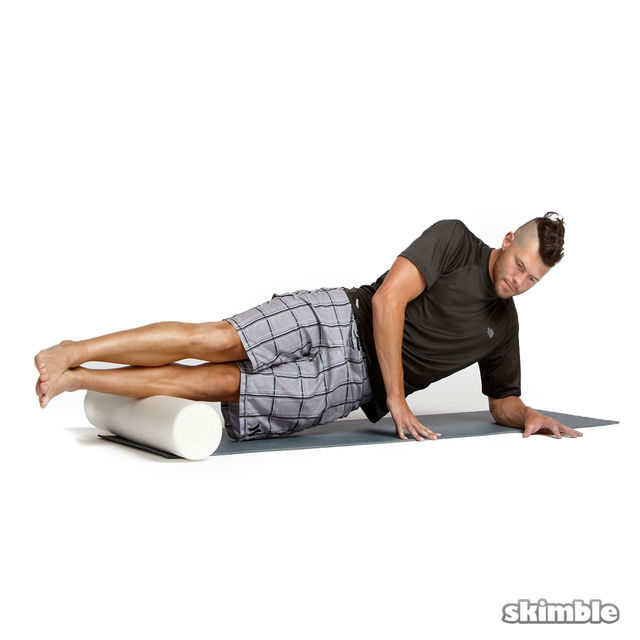 How to do: Advanced Left Peroneal Rolls - Step 2