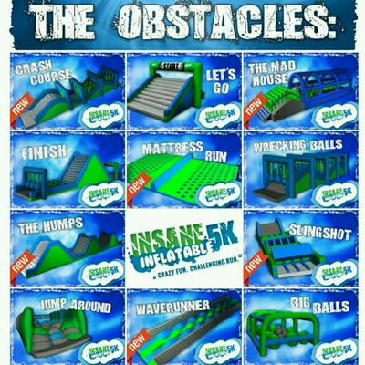 Core & Stability #InsaneInflatable5K