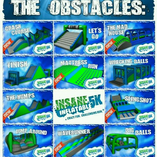 Insane5K Inflatable Obstacle Course